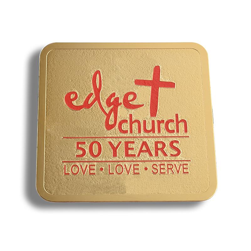 CHURCH coaster