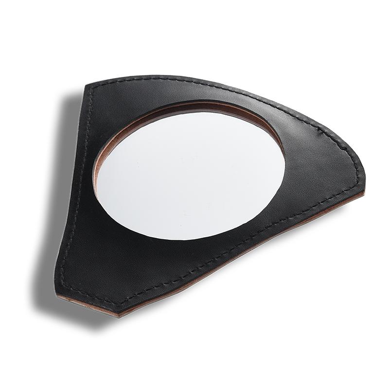 Geometric makeup mirror