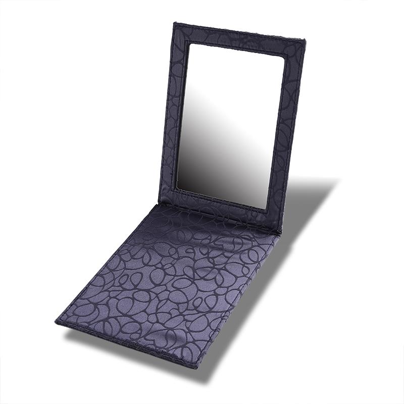 Square folding mirror