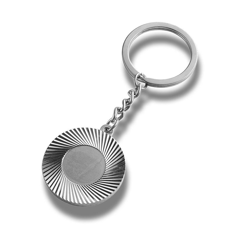 Metal keychain creative